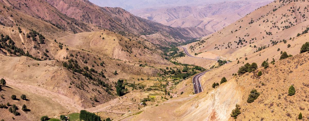 Carrefours mythique de la route de la soie et Vallée de Fergana