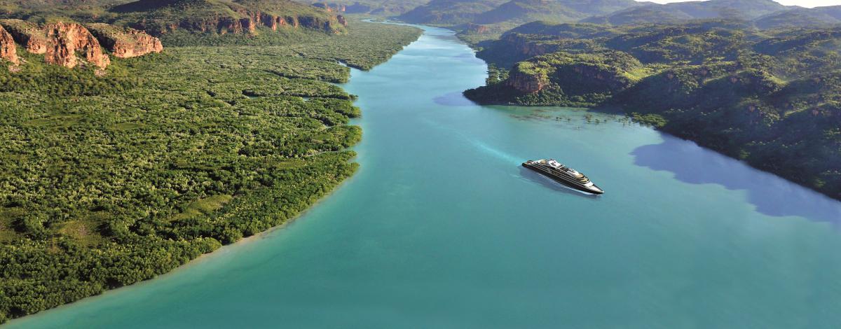 Le Kimberley emblématique à bord du Ponant
