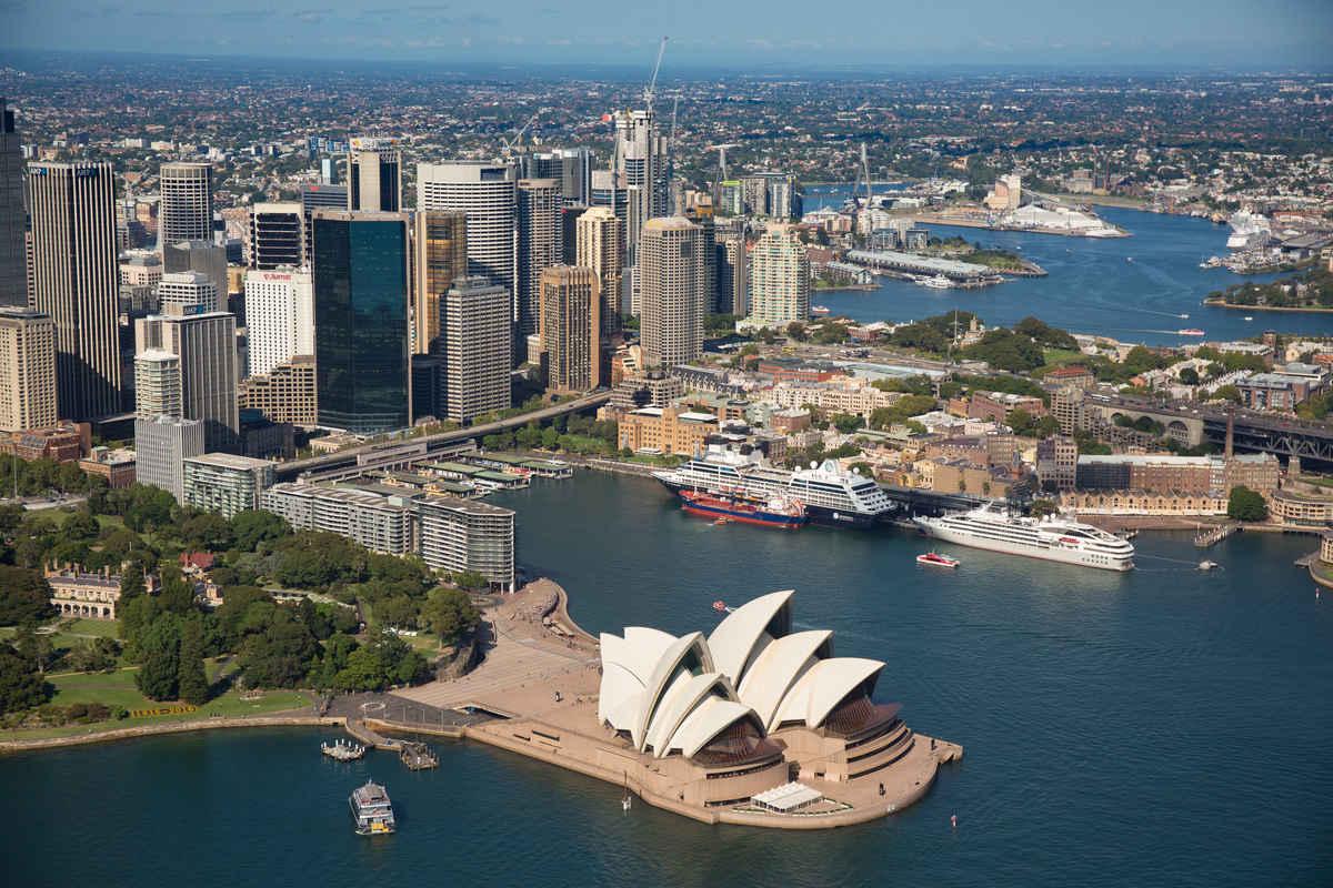 La côte orientale de l'Australie à bord du Ponant