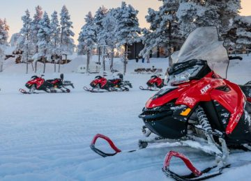 Aventure sur la Taïga, une semaine de sensations fortes en Laponie!