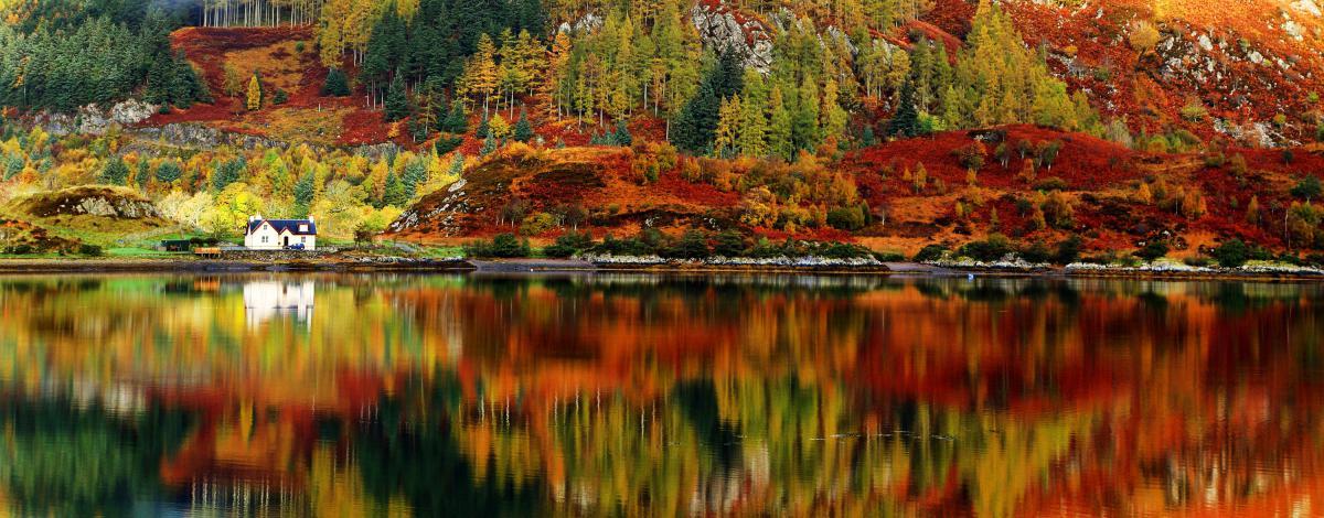 Les Highlands aux couleurs de l'automne