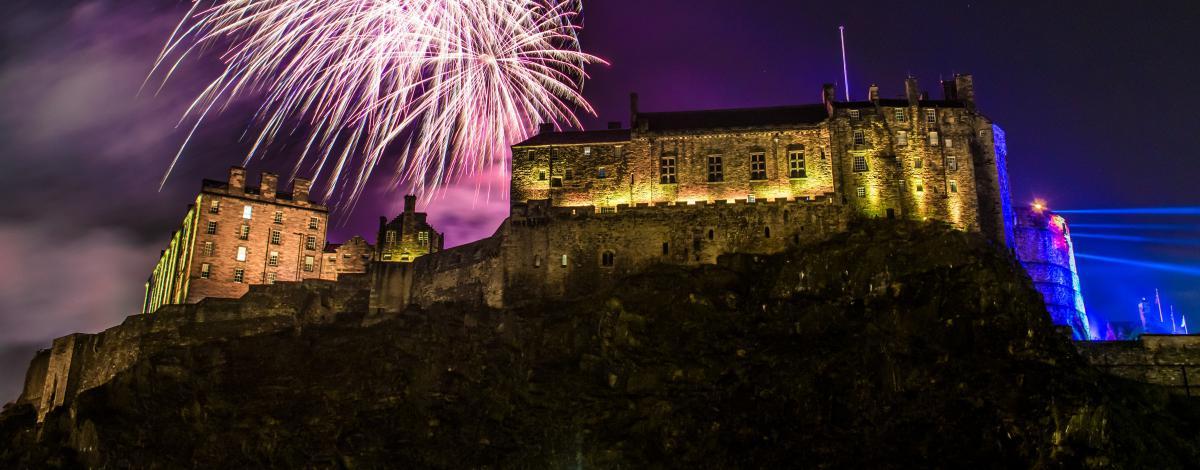 Réveillon du Nouvel An à Edimbourg
