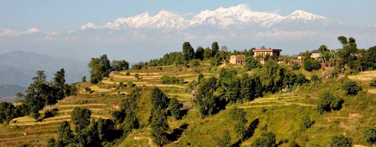 Panoramas du Népal : Katmandou, les cités royales et l'Himalaya
