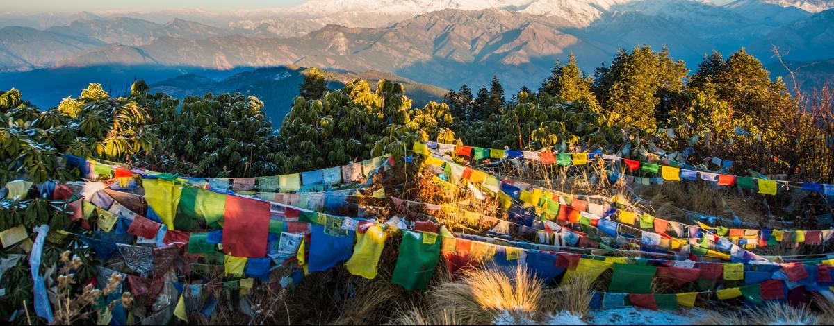 Trek sur les balcons des Annapurnas de Ghorepani à Poon Hill