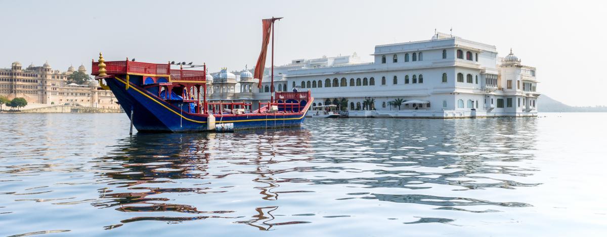 Le Rajasthan haut en couleurs en hébergement d'exception