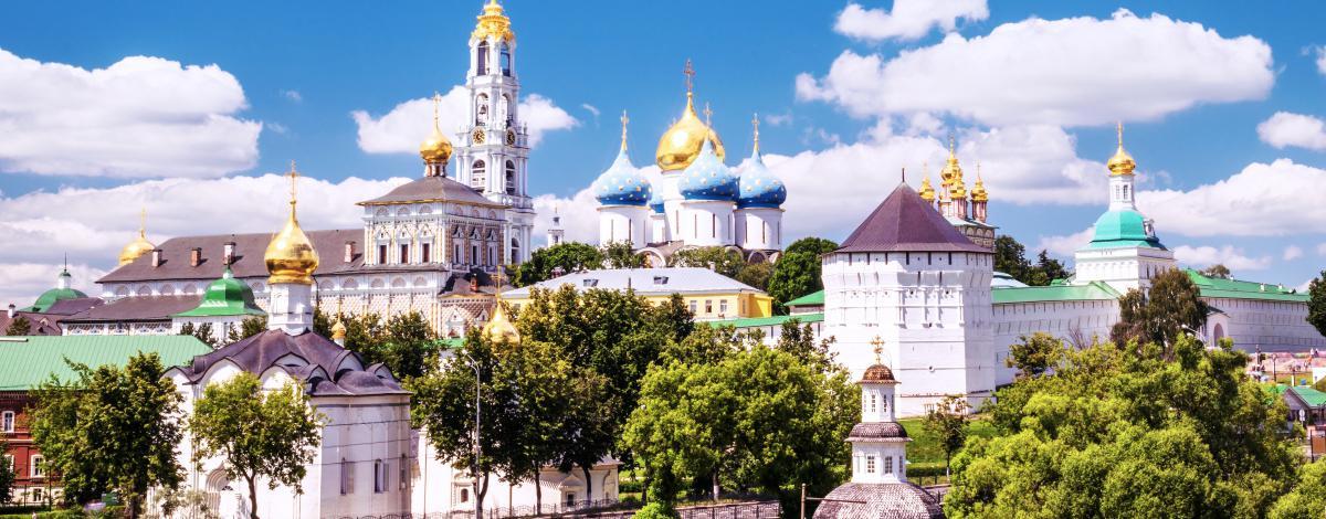 De Saint-Pétersbourg à Moscou en passant par l'anneau d'or