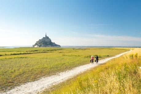 Saint Malo et le Mont St Michel à vélo