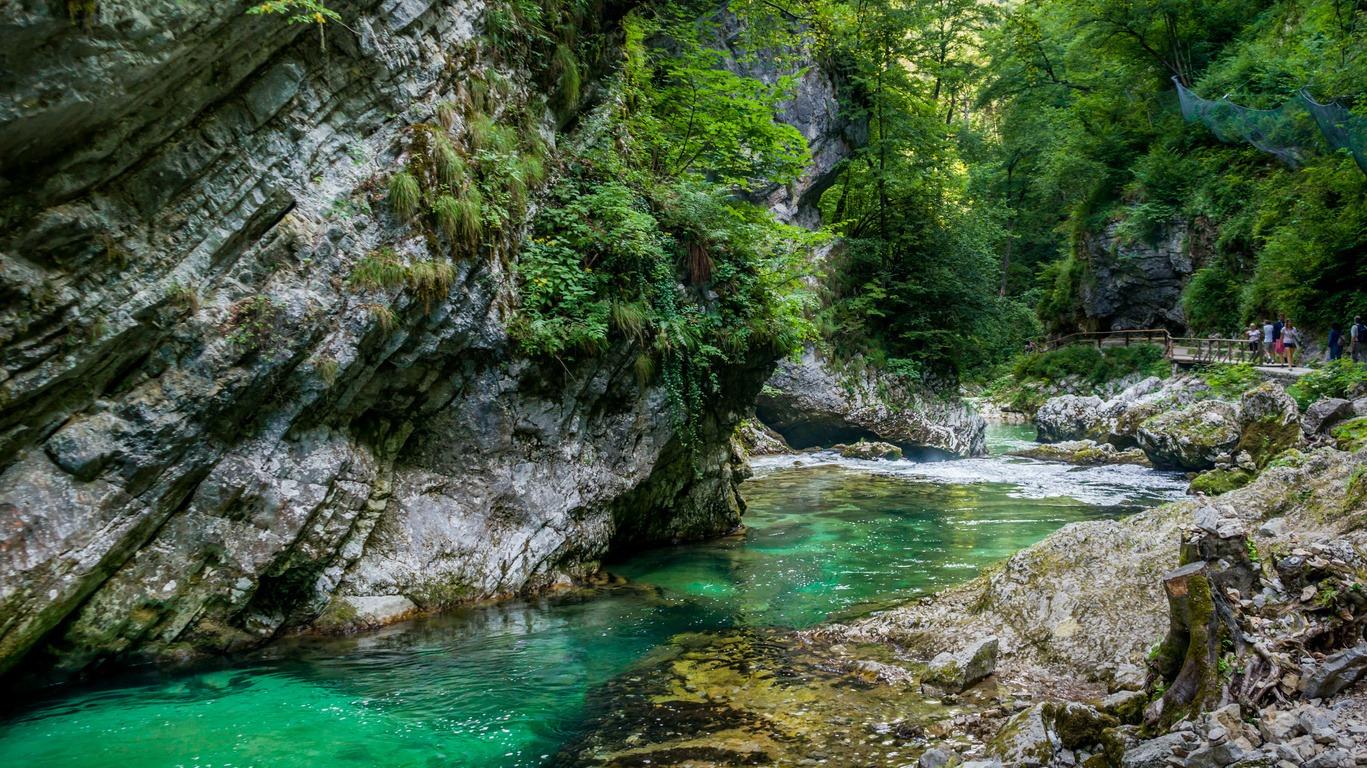 Road trip en camping car en Slovénie