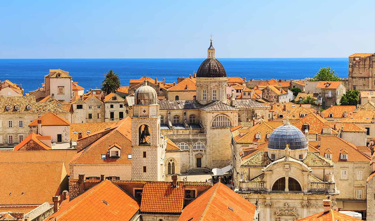 De Zagreb à Dubrovnik : sites de l'UNESCO et criques
