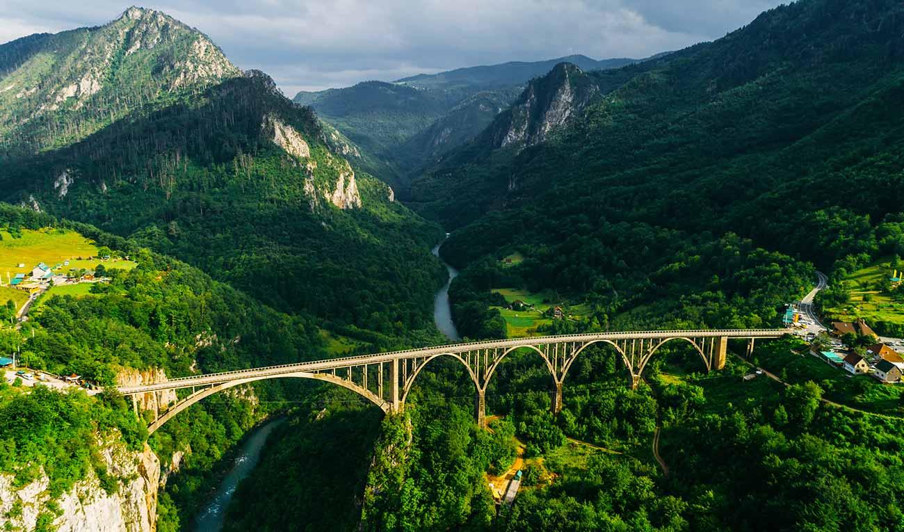Nature sauvage et déconnexion au Monténégro