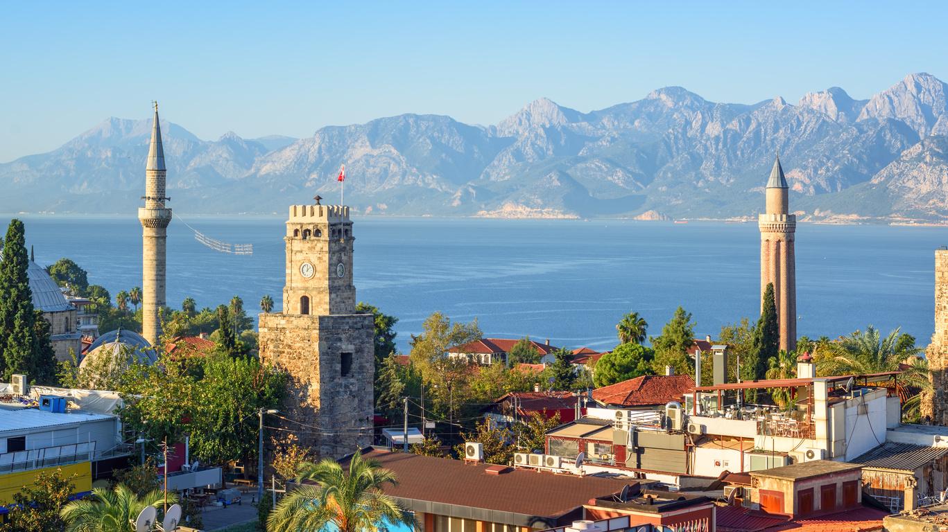 Voyage d'Istanbul à Antalya