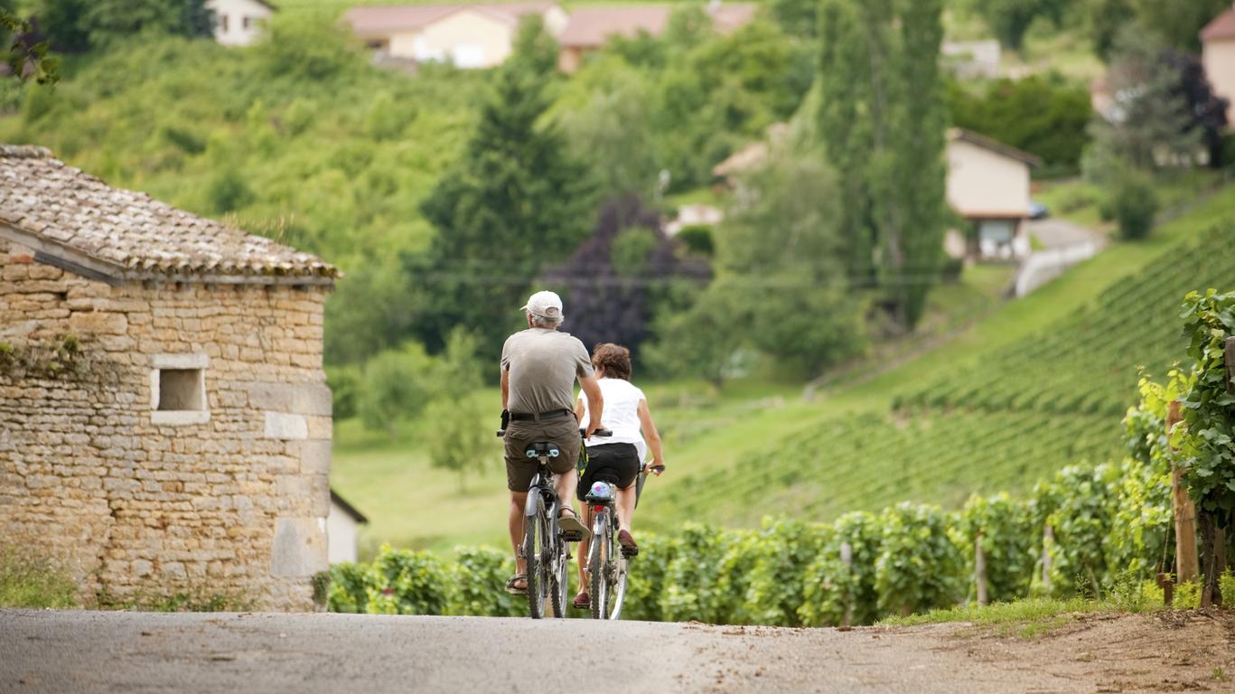 Immersion guidée en Bourgogne et à vélo