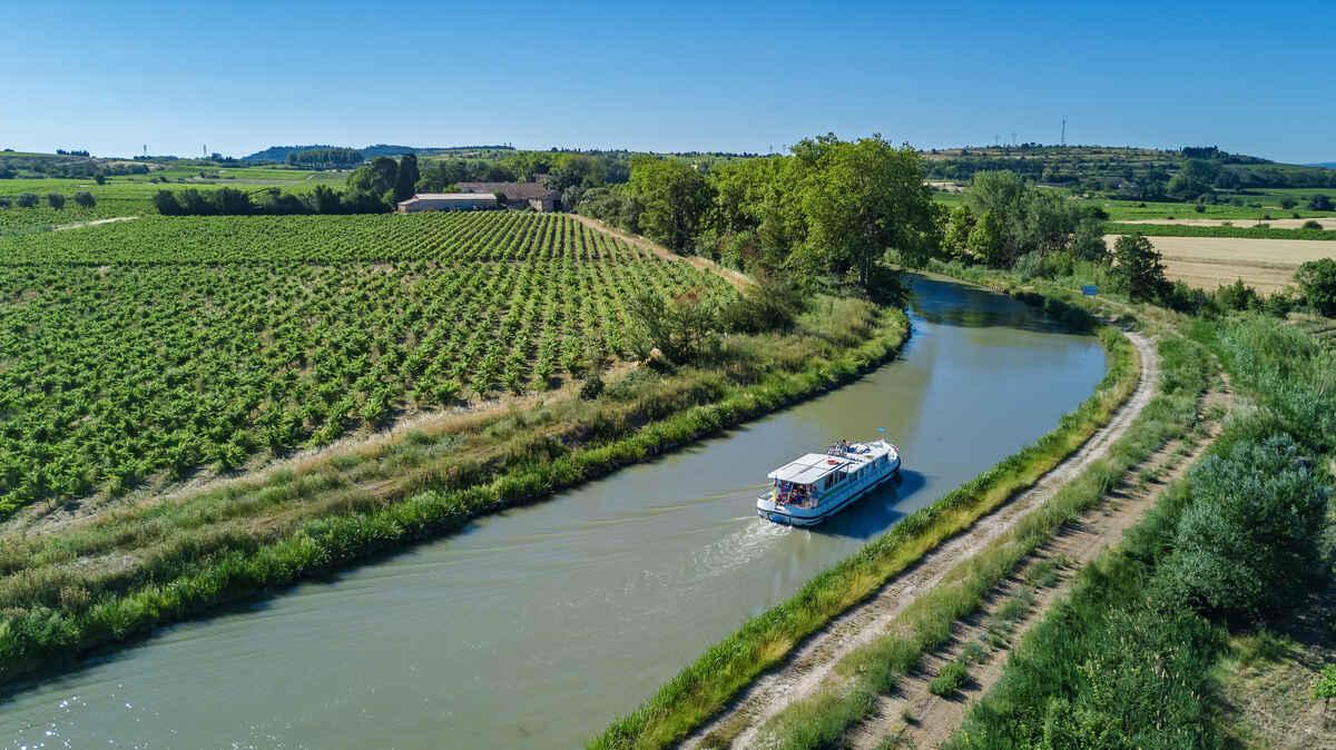 Le Canal du Midi et le Canal de Garonne en vélo électrique
