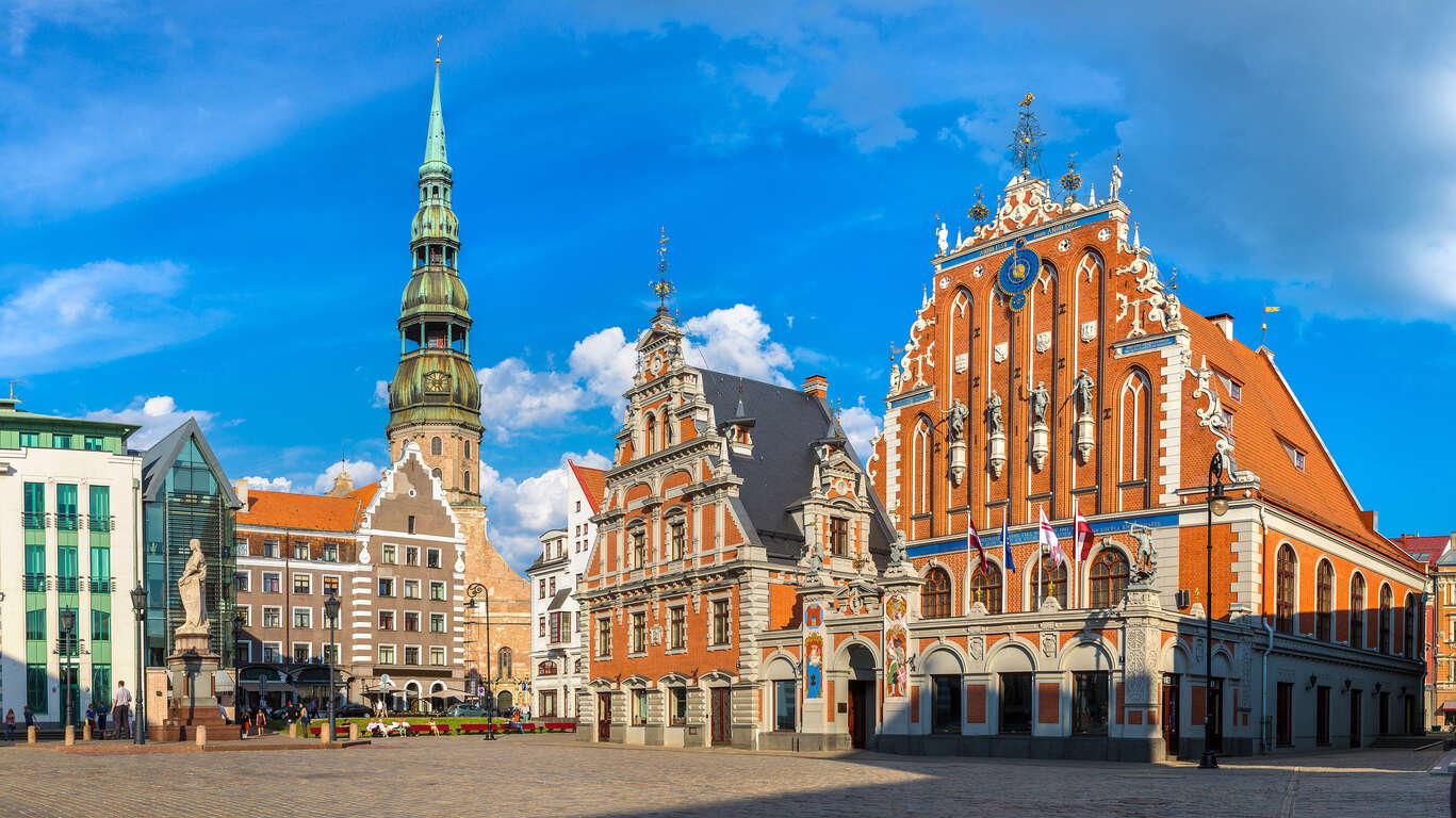 City break de St Pétersbourg aux capitales Baltes