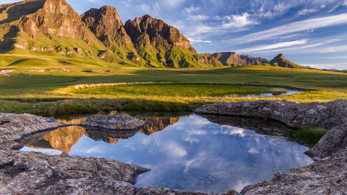 Voyage au Drakensberg et Pays Zoulou