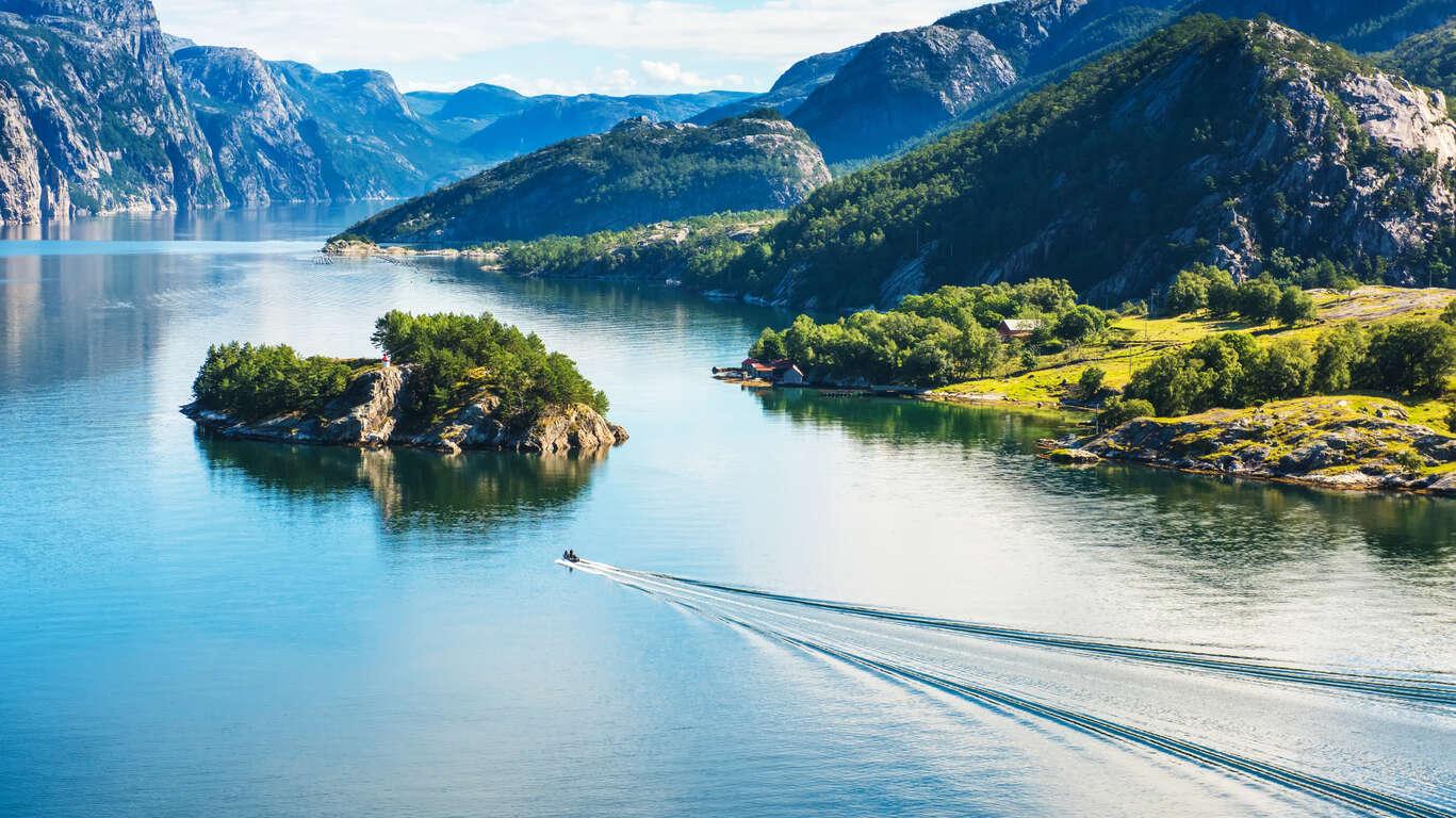 Voyage Région des fjords