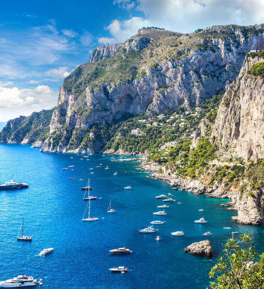 Les coups de cœur de Cercle des Voyages pour un voyage à Capri en amoureux